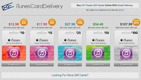 How to buy an American iTunes gift card outside the US | EPELTECH