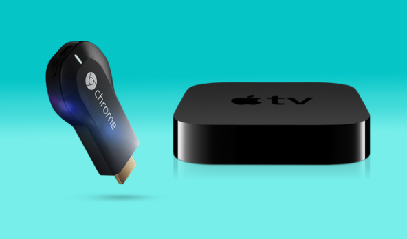 chromecast-vs-Apple-TV