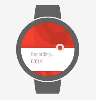Wear Audio Recorder app1